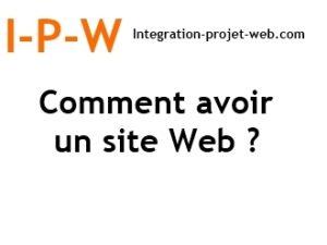 Comment avoir un site Web