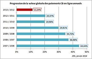 E-commerce en France année 2013