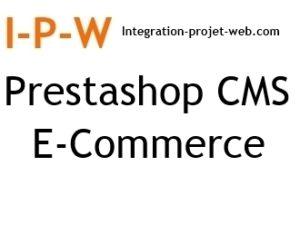 Référencement naturel Prestashop sites CMS E Commerce I-P-W agence web Référencement, Création, Promotion de site Web en télétravail partout en France