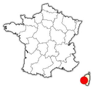 Région Corse 2A 2B Corse du Sud et Haute Corse. I-P-W Référencement Création Promotion Web en télétravail partout en France