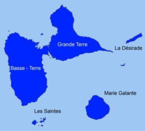 Région Guadeloupe. I-P-W Référencement Création Promotion Web en télétravail partout en France