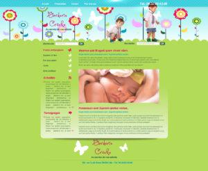 Graphisme et site web crèches garderie garde d'enfant ou activités enfantines I-P-W agence web Marseille Aix en Provence en télétravail partout en France