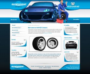 Graphisme et site web garages auto et autres activités automobile I-P-W agence web Marseille Aix en Provence en télétravail partout en France