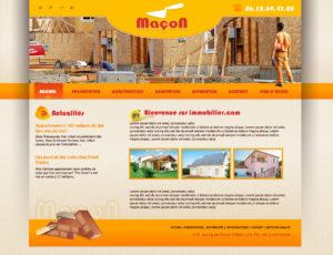 Graphisme et site web maçon ou autre activité autour de la maçonnerie et du bâtiment I-P-W agence web Marseille Aix en Provence en télétravail partout en France
