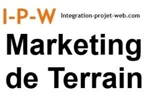 Marketing de Terrain I-P-W agence Web Création référencement Promotion de site web Marseille Aix télétravail partout en France