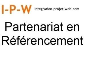 Partenariat en Référencement Web sur projets partagés I-P-W agence web Référencement, Création, Promotion de site Web en télétravail partout en France