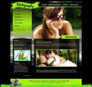 Création de Site Web Photographe Photographie Graphisme et site I-P-W agence Web Marseille Aix télétravail partout en France