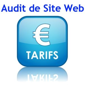 tarif audit de site web