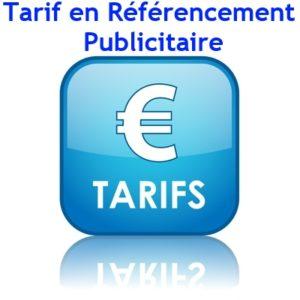 Tarifs en Référencement Publicitaire ou Sponsorisé de site Web