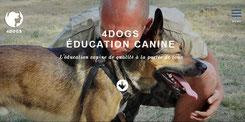 Site I-P-W Éducation & Sauvegarde des chiens Education4Dogs