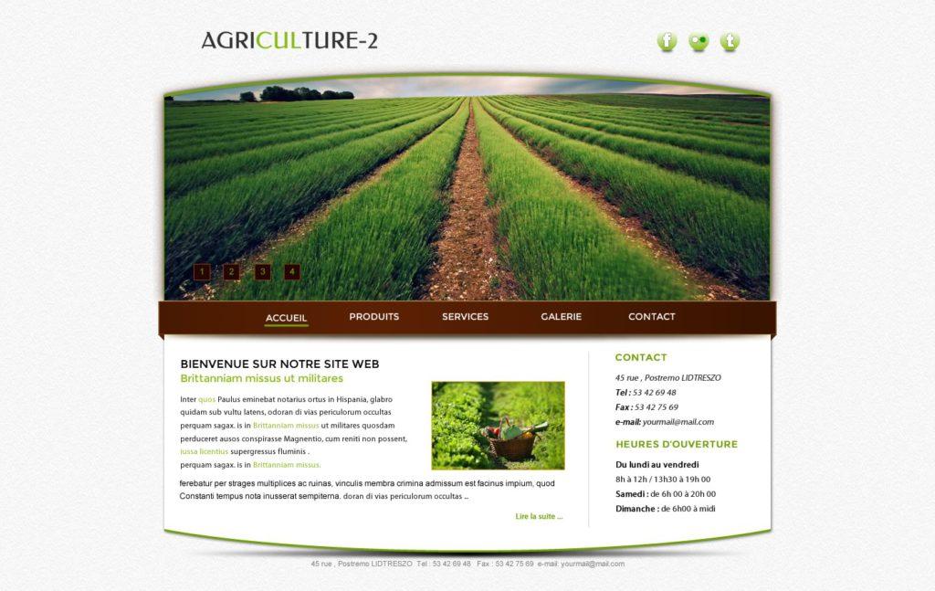 Création de Site Web Agriculteur Agriculture Graphisme et site I-P-W agence Web Marseille Aix télétravail partout en France