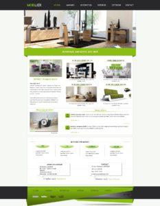 Création de Site Web Meuble Mobilier graphisme et site I-P-W agence Web Marseille Aix télétravail partout en France