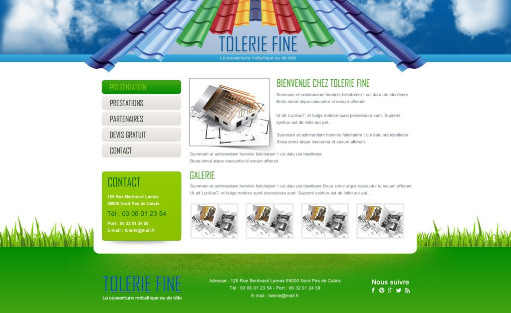 Création de Site Web Tôlerie Carrossier Graphisme et site I-P-W agence Web Marseille Aix télétravail partout en France