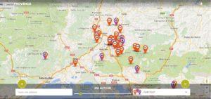 Dernier site web réalisé Site Portail location de gîtes et chambres d'hôtes EspritProvence.com I-P-W agence web Marseille Aix en télétravail partout en France