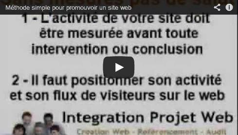 Vidéo Une méthode simple pour promotionner son site-web I-P-W agence web en teletravail