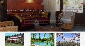Dernier site web réalisé par I-P-W lemasdelachouette-com Gites et Chambres d'hôtes à Saint Rémy de Provence I-P-W agence web Marseille Aix en télétravail partout en France